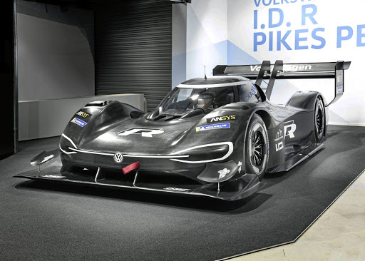 Volkswagen's I.D. R Pikes Peak will attempt to set the fastest record for electric cars in the famous hill climb race in Colorado Springs, US. Picture: SUPPLIED