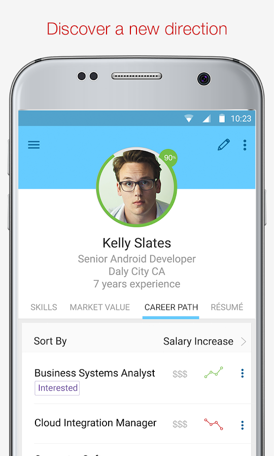 Tech Jobs, Skills & Salary- screenshot