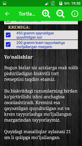 Tortlar retsepti Screenshots 6