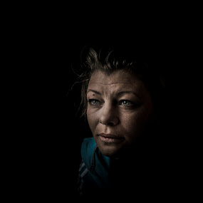 by Annelie Hallberg - People Portraits of Women ( natural light, color )