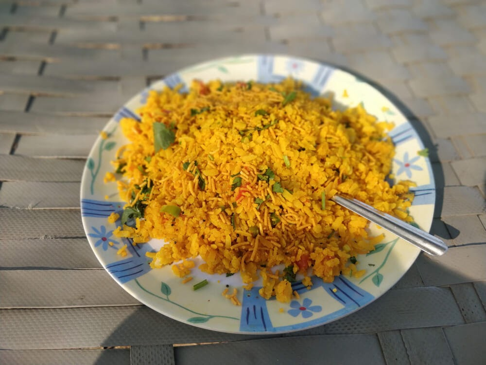 poha+meal+pushkar+camel+Fair+rajasthan