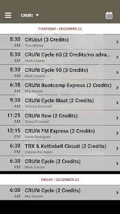 CRUfit- screenshot thumbnail