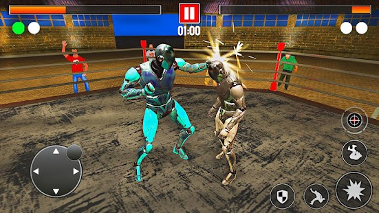 Real Robot Steel Ring Fighting Game - náhled