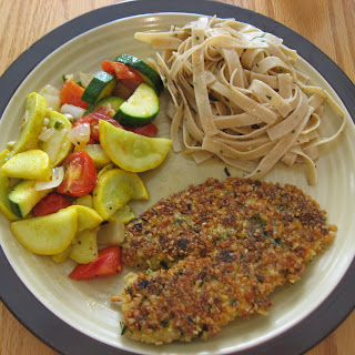 Cracker and Parmesan Crusted Tilapia