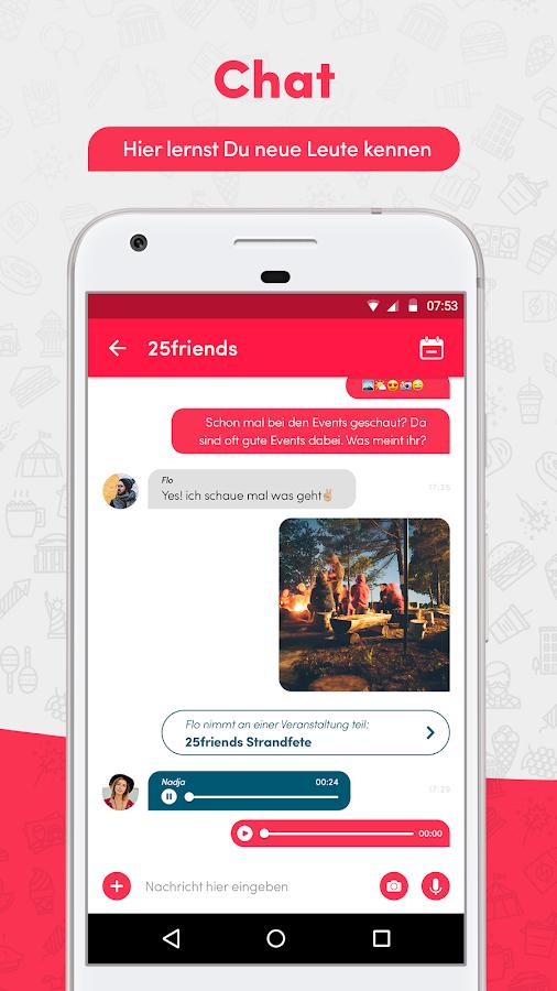 25friends freunde finden android apps on google play. Black Bedroom Furniture Sets. Home Design Ideas