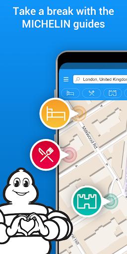 ViaMichelin Route planner,maps screenshot 5