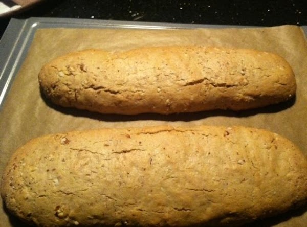 BAKE FOR 25 MINUTES, UNTIL GOLDEN BROWN. REMOVE FROM COOKIE SHEET N LET COOL...