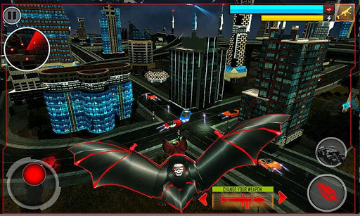 Super Hero Robot Transforming Games Real Robot Bat 11 screenshots 5