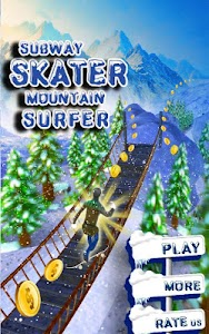 Subway Skater Mountain Surfer screenshot 10