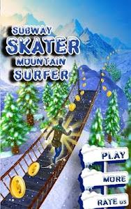 Subway Skater Mountain Surfer screenshot 10