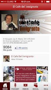 Download El Cafe del Inmigrante for Windows Phone apk screenshot 1