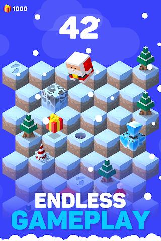 android Ice Hill: Endless Xmas Fun Screenshot 6