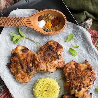 Grilled Indian Chicken.