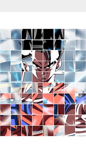 Dragon Saiyan Puzzle screenshot 1