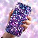 Glitter Live Wallpaper Glitzy icon