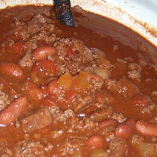 Crockpot Elk Chili