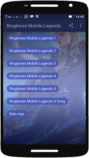 Ringtones Mobile Legends I Nada Dering ML 2.0 screenshots 1