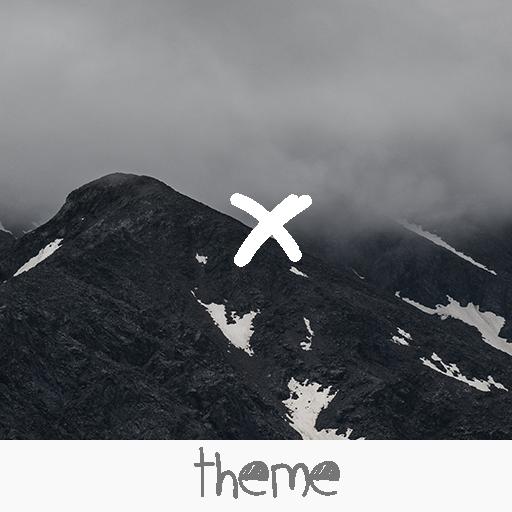 Material Mountain White Theme
