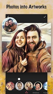 Cartoon Photo Filters-CoolArt- screenshot thumbnail