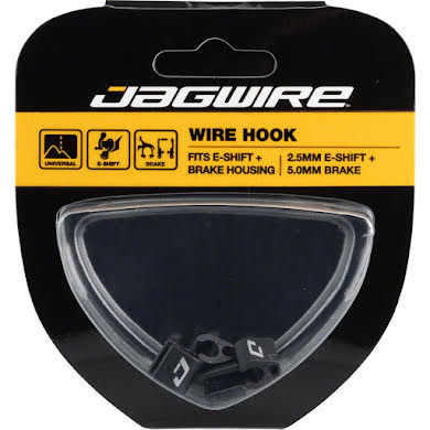 Jagwire Wire Hook for Electronic Shift Wire and Brake Housing, Pack of 4