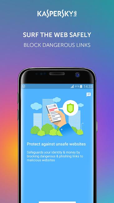 #6. Kaspersky Antivirus & Security (Android)