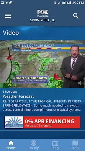 Fox Illinois Weather App 4.6.1400 screenshots 2