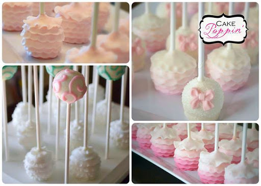 Ruffle Cake Pop Tutorial