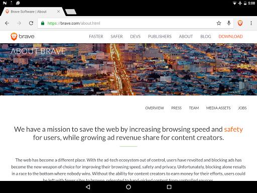 玩免費個人化APP|下載Brave Browser: Fast AdBlock app不用錢|硬是要APP