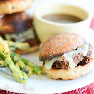 ~Slow Cooker French Dip Sandwiches~