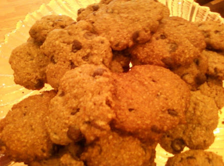 No Flour Chocolate Chip Oatmeal Cookies Recipe