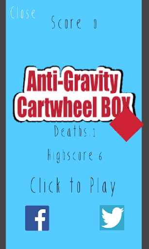 Anti-Gravity Cartwheel BOX