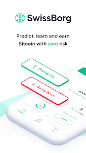SwissBorg - Bitcoin Price Prediction Game Screenshot
