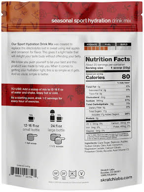 Skratch Labs Sport Hydration Drink Mix: 20-Serving Resealable Pouch alternate image 2