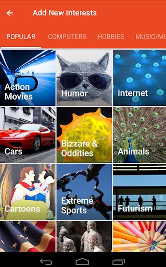 Screenshot 17 for StumbleUpon's Android app'