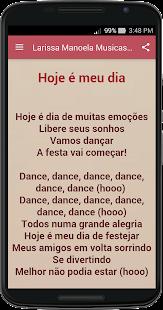 Larissa Manoela musica e letra – Apps no Google Play 53b3a207c5
