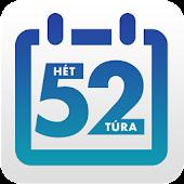 52 túra – 52 hétvége