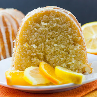 Lemon-Orange Pound Cake.