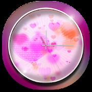 Heart 3D Theme Clock