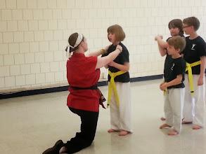 Photo: Self defense. Photo by NSCC student Kym Malik