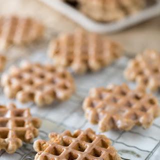 Cinnamon Waffle Cookies