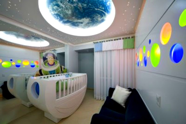 Ideias para quartos de bebês gêmeos