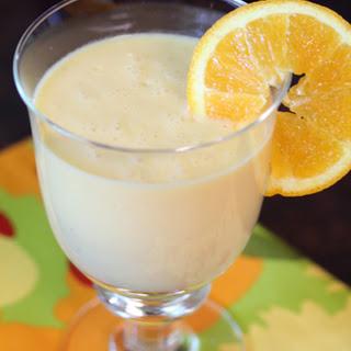 Orange, Mango, Banana Dessert Smoothies