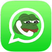 Pepe the Frog, stickers 4 chat