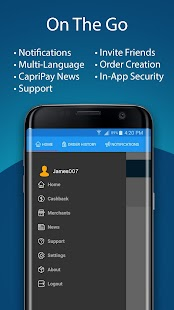 CapriPay- screenshot thumbnail