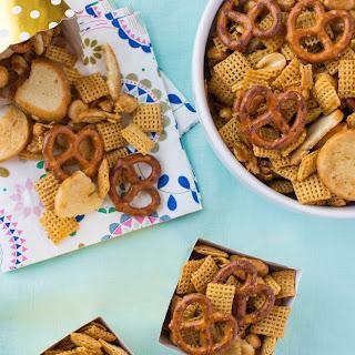 Honey-Mustard Snack Mix