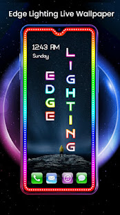 Download Edge Lighting Live Wallpaper - Border Light APK