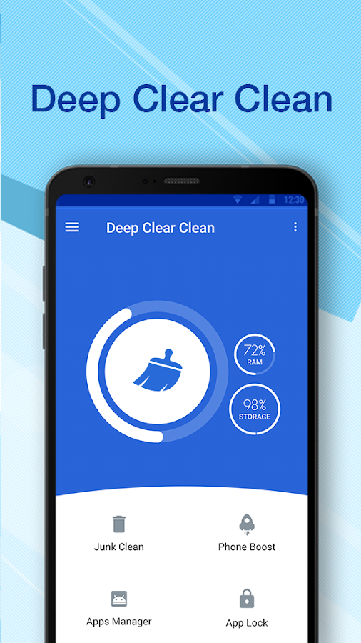Deep Clear Clean- screenshot