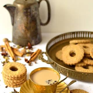 Masala Chai Spiced Rye Shortbread.