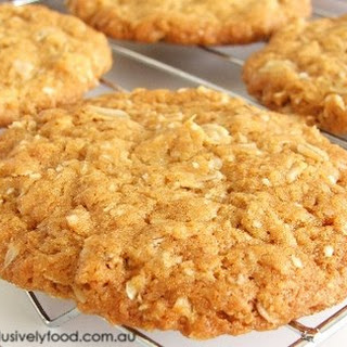 Chewy Anzac Biscuit.