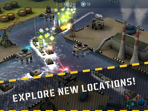 Naval Rush: Sea Defense  screenshots 7
